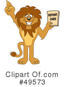 Lion Character Clipart #49573 by Toons4Biz