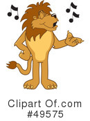Lion Character Clipart #49575 by Toons4Biz