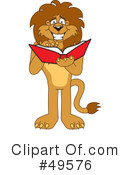 Lion Character Clipart #49576 by Toons4Biz