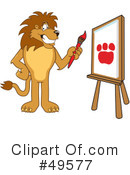 Lion Character Clipart #49577 by Toons4Biz