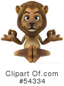 Lion Character Clipart #54334 by Julos
