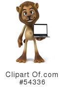 Lion Character Clipart #54336 by Julos