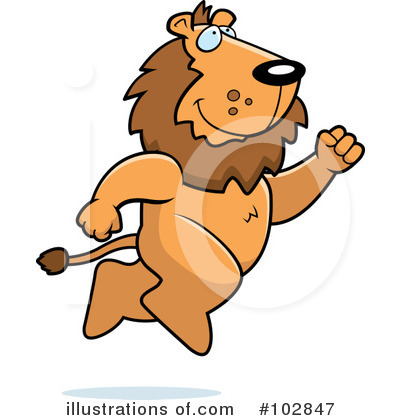 Lion Clipart #102847 by Cory Thoman