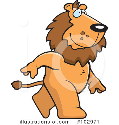 Lion Clipart #102971 by Cory Thoman