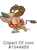 Lion Clipart #1044856 by toonaday