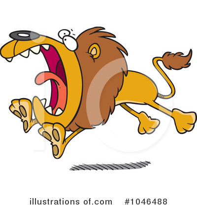 Lion Clipart #1046488 by toonaday