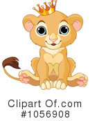 Lion Clipart #1056908 by Pushkin