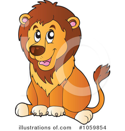 Lion Clipart #1059854 by visekart