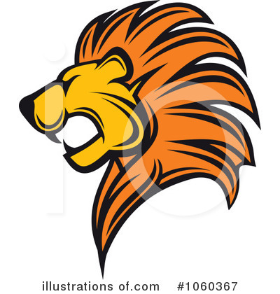 Lion Clipart #1060367 by Vector Tradition SM