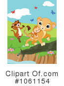 Royalty-Free (RF) Lion Clipart Illustration #1061154