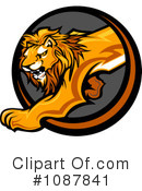 Lion Clipart #1087841 by Chromaco