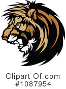 Lion Clipart #1087954 by Chromaco