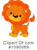 Royalty-Free (RF) lion Clipart Illustration #1090069