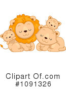 Lion Clipart #1091326 by BNP Design Studio