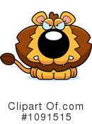 Lion Clipart #1091515 by Cory Thoman