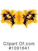 Royalty-Free (RF) lion Clipart Illustration #1091641
