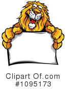 Lion Clipart #1095173 by Chromaco