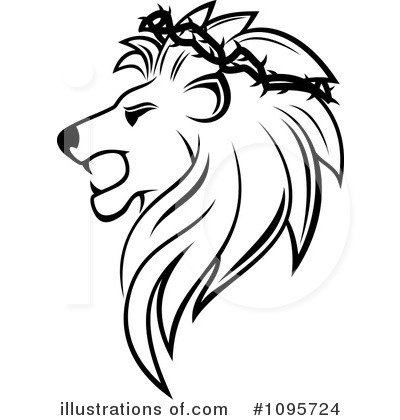 Lion Clipart #1095724 by Vector Tradition SM