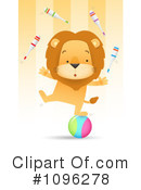 Lion Clipart #1096278 by Qiun