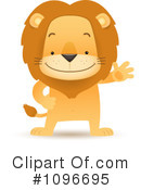Lion Clipart #1096695 by Qiun
