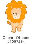 Royalty-Free (RF) lion Clipart Illustration #1097294