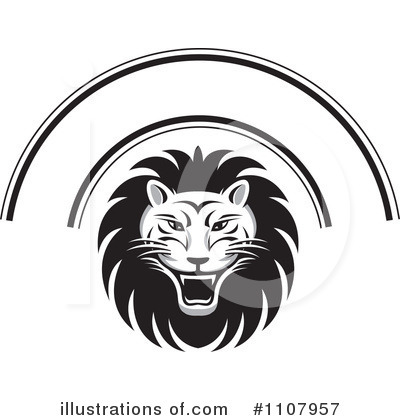Lion Clipart #1107957 by Lal Perera