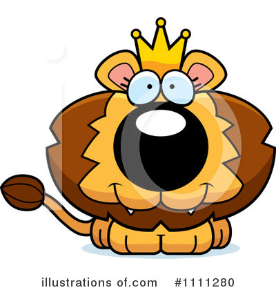 Lion Clipart #1111280 by Cory Thoman
