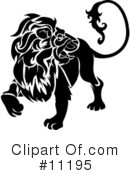 Lion Clipart #11195 by AtStockIllustration