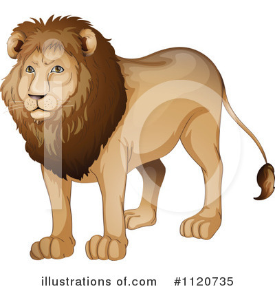 Lion Clipart #1120735 by Graphics RF