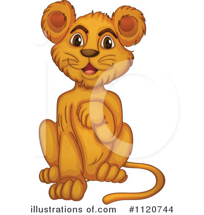 Lion Clipart #1120744 by Graphics RF