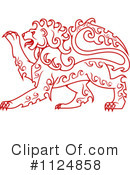 Lion Clipart #1124858 by Vector Tradition SM
