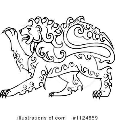 Lion Clipart #1124859 by Vector Tradition SM