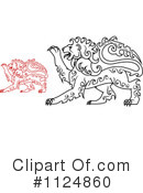 Lion Clipart #1124860 by Vector Tradition SM