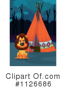 Royalty-Free (RF) Lion Clipart Illustration #1126686