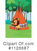 Royalty-Free (RF) Lion Clipart Illustration #1126687