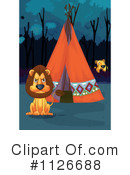 Royalty-Free (RF) Lion Clipart Illustration #1126688