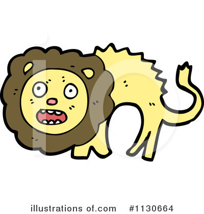 Lion Clipart #1130664 by lineartestpilot