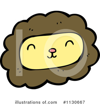 Royalty-Free (RF) Lion Clipart Illustration by lineartestpilot - Stock Sample #1130667