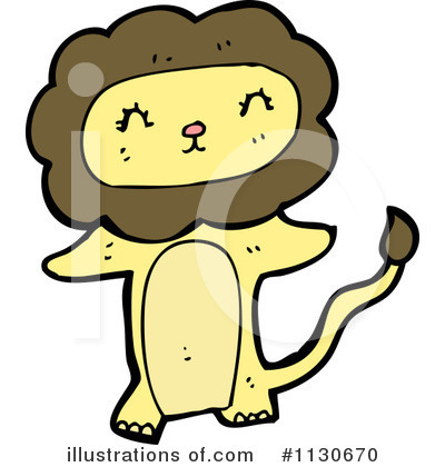 Lion Clipart #1130670 by lineartestpilot