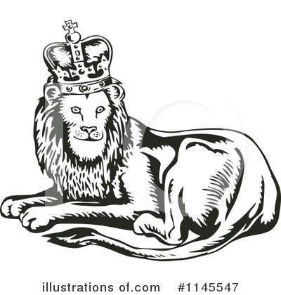 Lion Clipart #1145547 by patrimonio