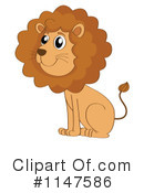 Royalty-Free (RF) Lion Clipart Illustration #1147586