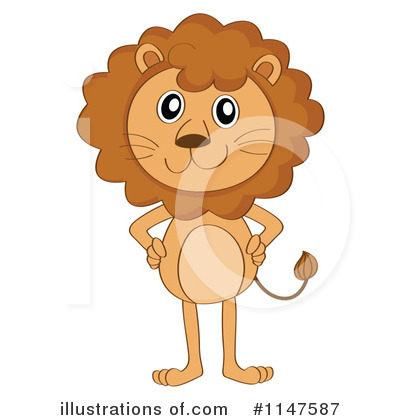 Lion Clipart #1147587 by Graphics RF