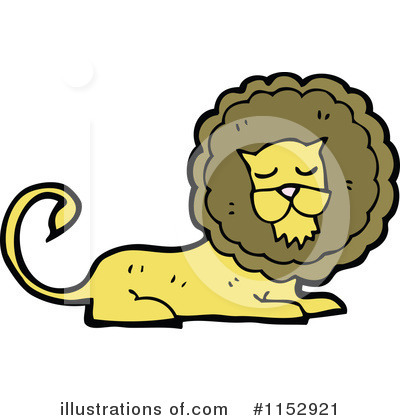 Lion Clipart #1152921 by lineartestpilot