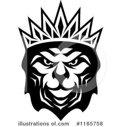 Heraldic Lion Clipart #1165758 by Vector Tradition SM