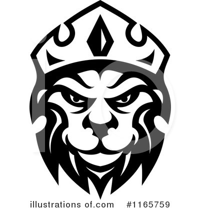 Lion Clipart #1165759 by Vector Tradition SM