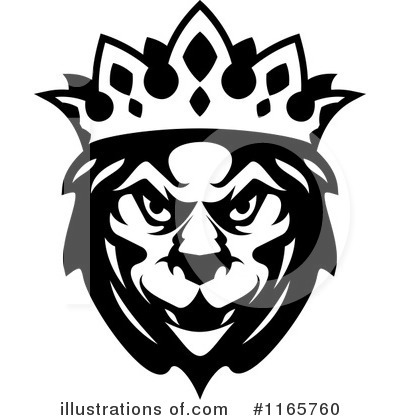 Heraldic Lion Clipart #1165760 by Vector Tradition SM