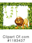 Lion Clipart #1183437 by Graphics RF