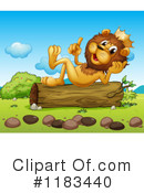 Lion Clipart #1183440 by Graphics RF