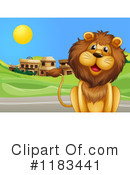 Lion Clipart #1183441 by Graphics RF