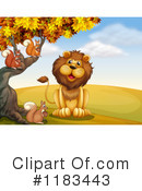 Lion Clipart #1183443 by Graphics RF